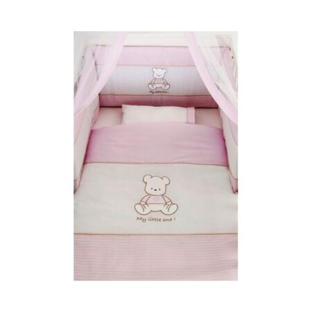 Σετ προίκας Little One baby bear pink Swarovski 136
