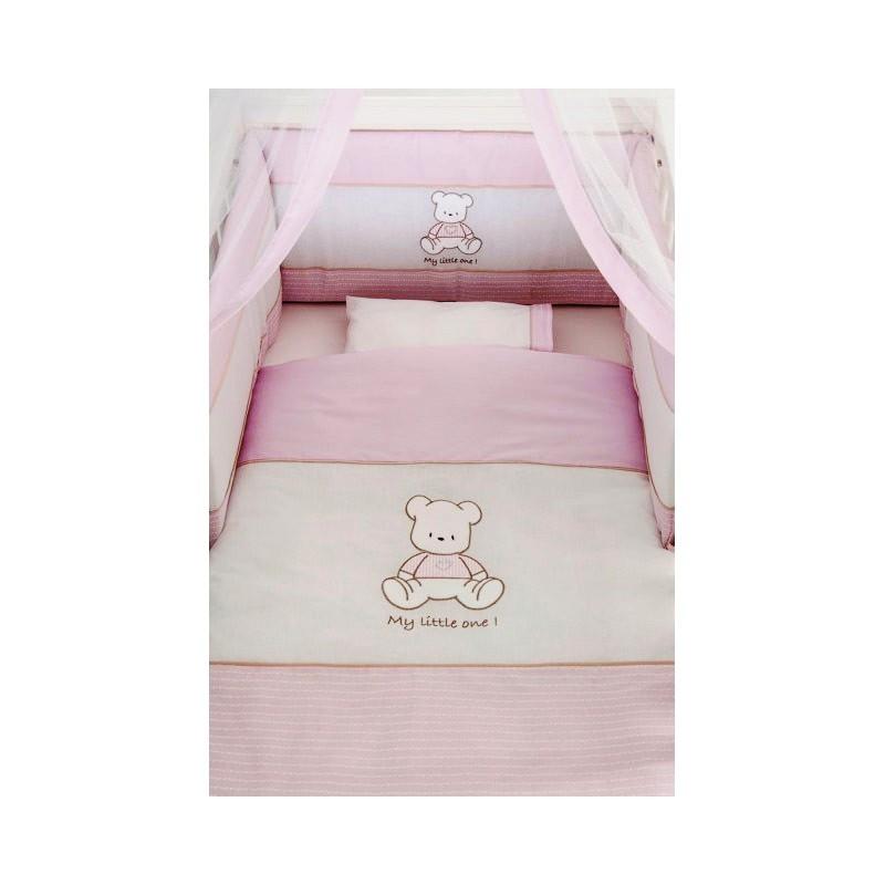 500ed3f89d4 Σετ προίκας Little One baby bear pink Swarovski. – 4baby.gr – Βρεφικά είδη