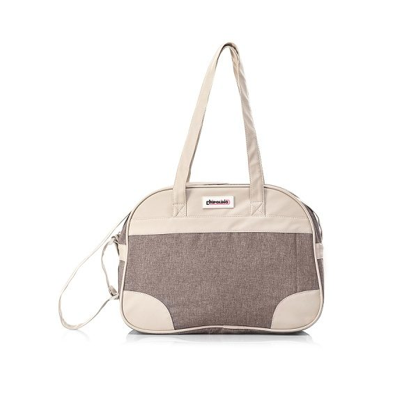 Tσάντα αλλαγής λινό-δέρμα Chipolino mocca