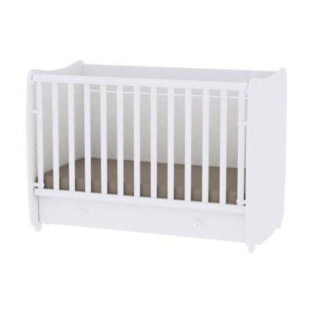 Κρεβάτι 60-120 μετατρεπόμενο Lorelli Dream Λευκό 10150420024A