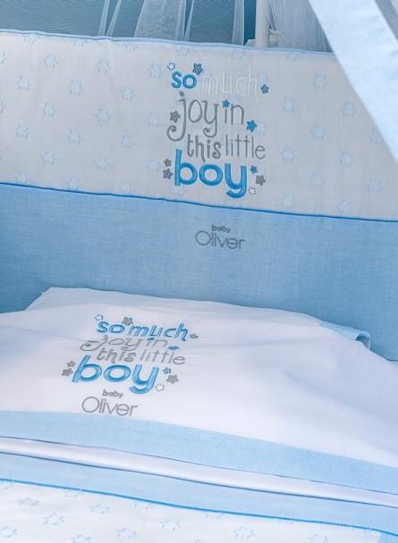 Σετ προίκα μωρού Baby Oliver 303 My little blue Joy