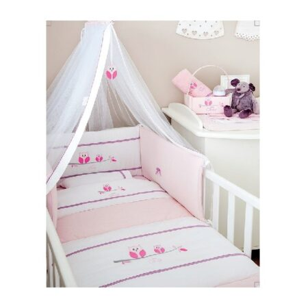 Σετ προίκα μωρού Baby Oliver 630 Sweet Pink Owl