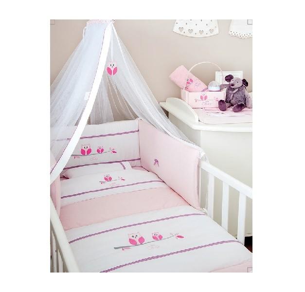 3dfc9aba69b Σετ προίκα μωρού Baby Oliver 630 Sweet Pink Owl – 4baby.gr – Βρεφικά είδη