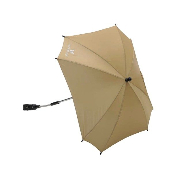 Ομπρέλα καροτσιού Μπεζ με UV προστασία Cangaroo