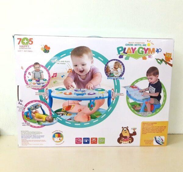 Γυμναστήριο Μωρού με εκπαιδευτικές δραστηριότητες Lorelli Learning Table
