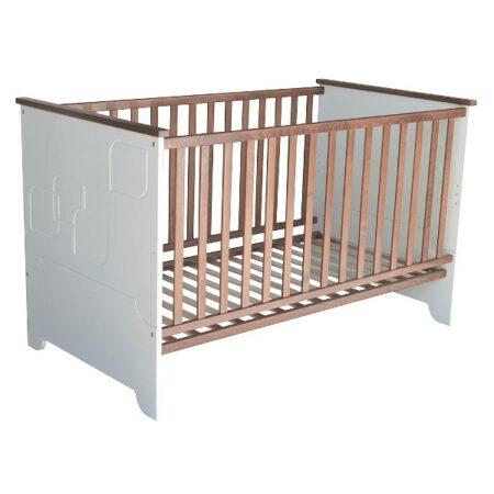 Προεφηβικό μετατρεπόμενο κρεβάτι Leaf Brown 70-140