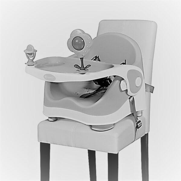 Καρεκλάκι φαγητού για καρέκλα Lorelli Pixi Beige-White