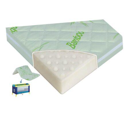 Στρώμα Παρκοκρέβατου Αναδιπλούμενο Air Comfort Bamboo Lorelli Καπιτονέ 6 cm.