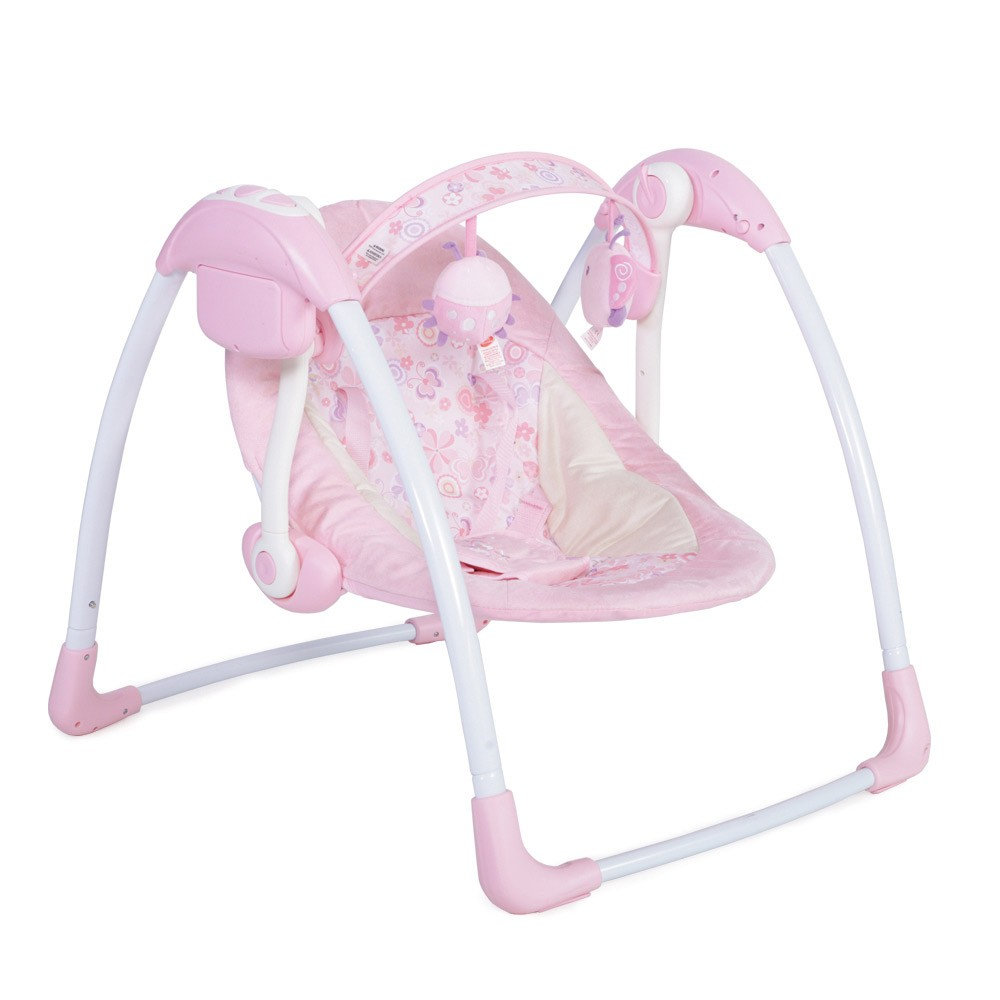 54750051605 Κούνια Ρηλάξ Cangaroo Swing Sky Pink – 4baby.gr – Βρεφικά είδη