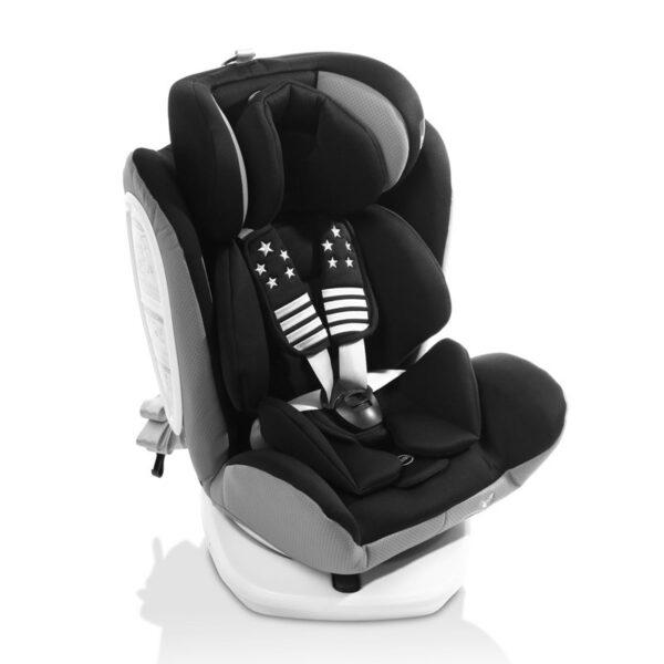 Κάθισμα αυτοκινήτου ISOfix 0-36kg Cangaroo Pilot Black Leather Black