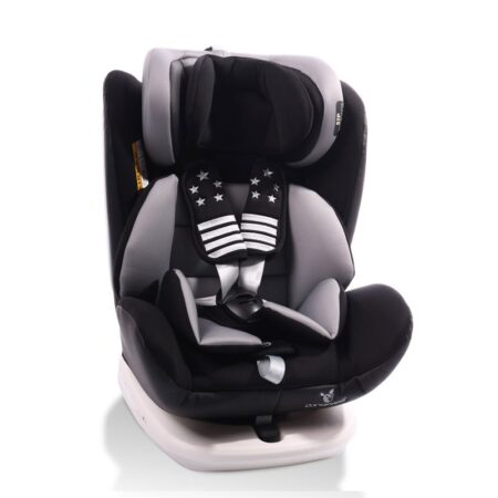 Κάθισμα αυτοκινήτου ISOfix 0-36kg Cangaroo Pilot Black Leather Black