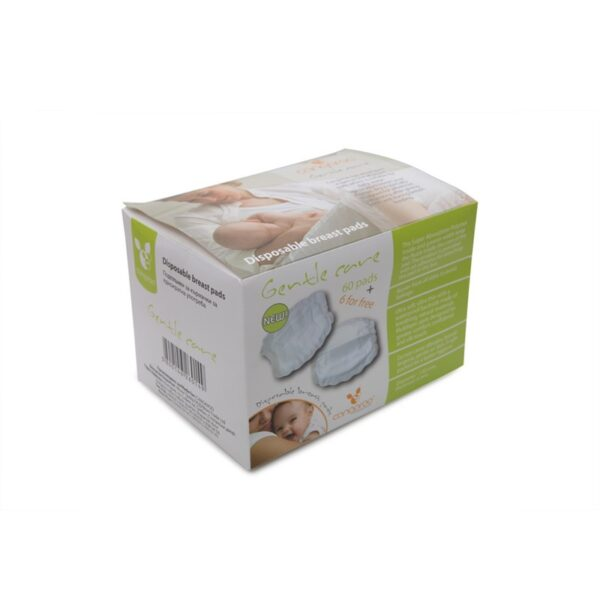 Επιθέματα Στήθους Υποαλλεργικά Cangaroo Gentle Care 60τμχ. + 6 δώρο