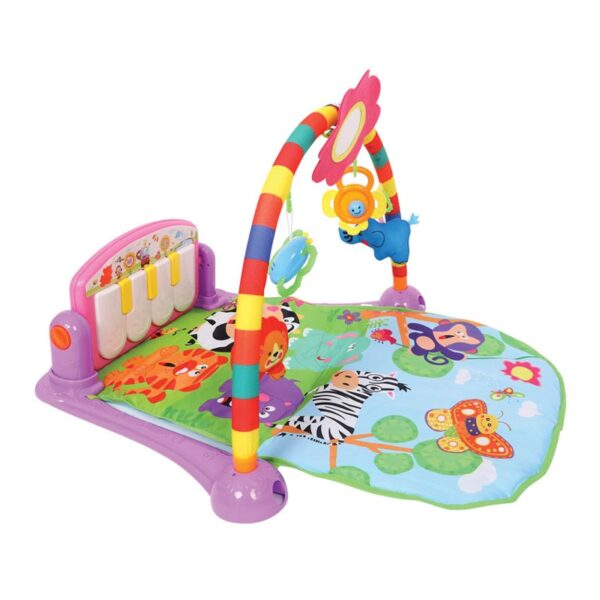 Γυμναστήριο Μωρού Lorelli Piano Pink 77x52