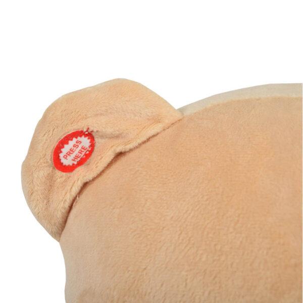 Κουνιστό αρκουδάκι Moni Bear khaki WJ-635