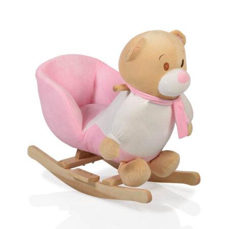 Κουνιστό αρκουδάκι Moni Bear Pink WJ-636