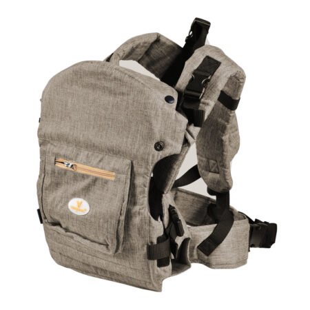 Μάρσιπος Cangaroo Bebe Unique Grey BK007