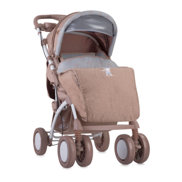 Πολυκαρότσι 2 σε 1 Lorelli Toledo Set Beige Indian Bear