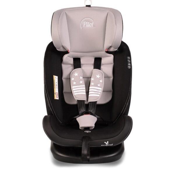 Κάθισμα αυτοκινήτου ISOfix 0-36kg Cangaroo Pilot Grey