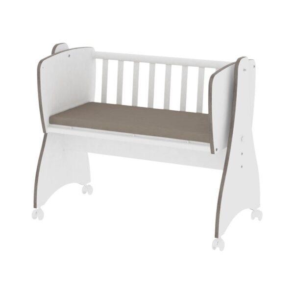 Λίκνο όλο λευκό Lorelli First Dreams White 10150550024
