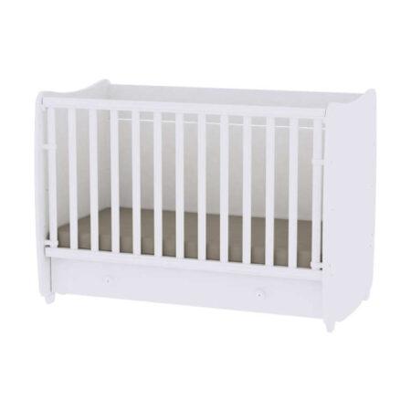 Κρεβάτι μετατρεπόμενο 70-140 Lorelli Dream Όλο Λευκό 10150440024A
