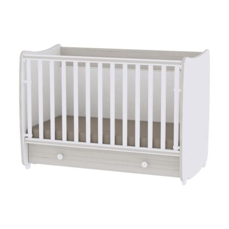 Κρεβάτι 60-120 μετατρεπόμενο Lorelli Dream White Light-Oak 10150420036A