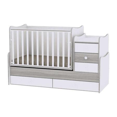 Πολυμορφικό Lorelli Maxi plus 70/160 White-Artwood  10150300030A