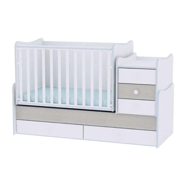 Πολυμορφικό Lorelli Maxi plus 70/160 White-Blue Elm 10150300033A