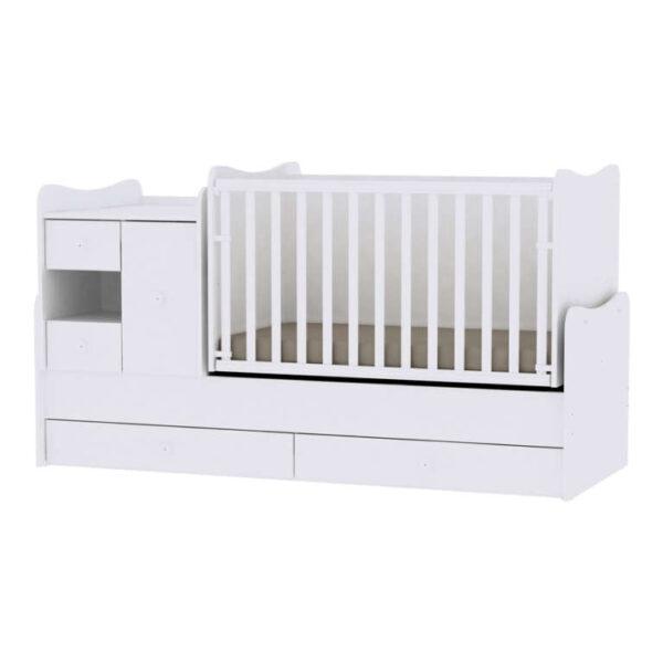 Πολυμορφικό Lorelli Mini Max 197-83 White 10150500024A
