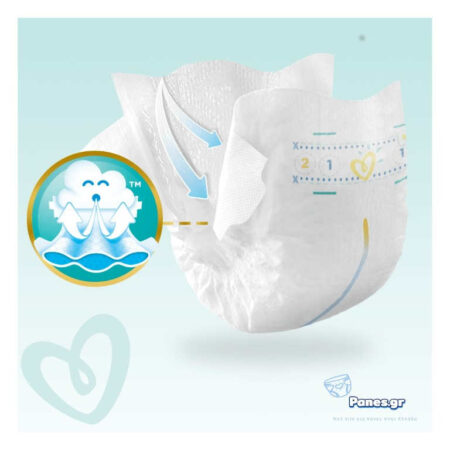 Πάνες Pampers premium care New baby 2-5 Kg 78 τεμ.