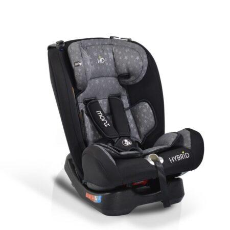 Κάθισμα αυτοκινήτου 0-36 kg Cangaroo Hybrid Grey Stars 3800146239701
