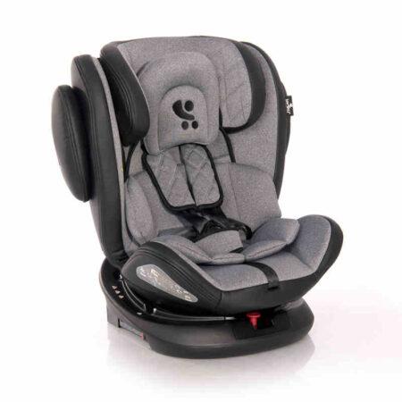 Κάθισμα αυτοκινήτου 0-36 κιλά Isofix Lorelli Aviator Black Light Grey 10071301901