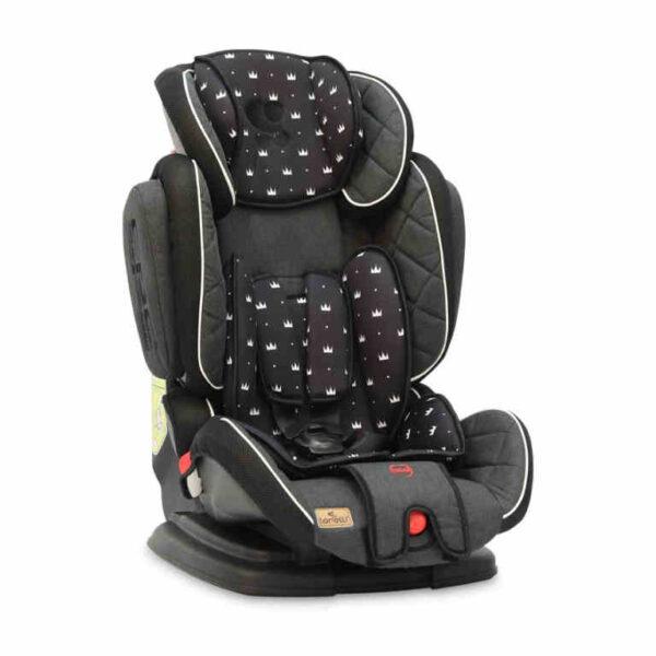 Κάθισμα αυτοκινήτου 9-36 kg Lorelli Magic Premium Black Crowns 10070852013