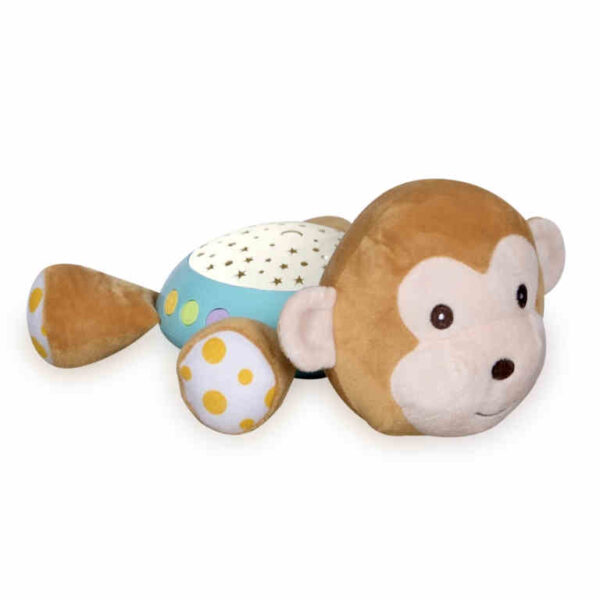 Φωτιστικό νυκτός, παιχνίδι με φώτα και μουσική Lorelli Night Light Monkey 10280140004