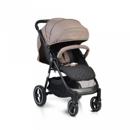 Πολυκαρότσι με κάθισμα αυτοκινήτου Cangaroo Sindy 2 in 1 Beige 3800146234959