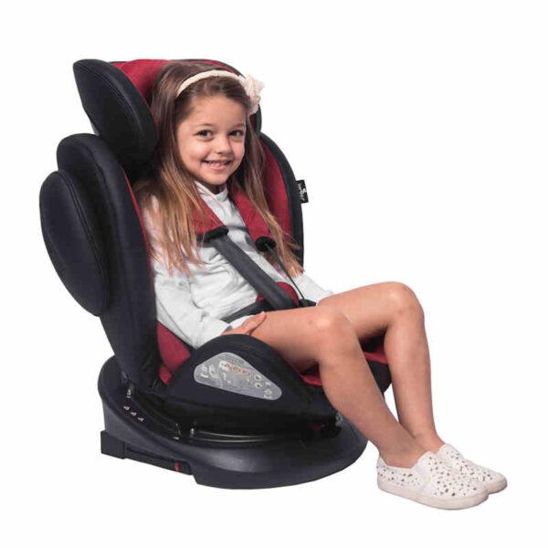 Κάθισμα αυτοκινήτου 0-36 κιλά Isofix Lorelli Aviator Black Red 10071301903