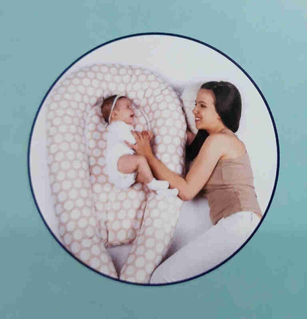 Μαξιλάρι θηλασμού - φωλιά - μειωτήρας 3 σε 1 Lorelli Bertoni Nest Stars Beige 20030160003