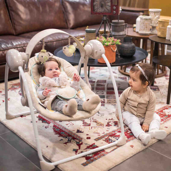 Κούνια Ρηλάξ Lorelli Baby swing Portofini Beige 10090061902