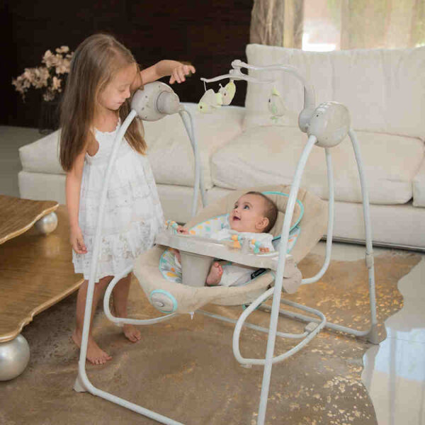 Κούνια Ρηλάξ Lorelli Baby Swing Tango Grey 10090071901
