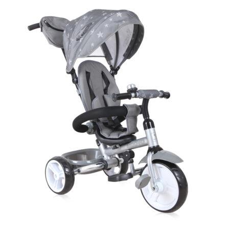Τρίκυκλο ποδηλατάκι Moovo Eva wheels Grey Black Stars 10050472001