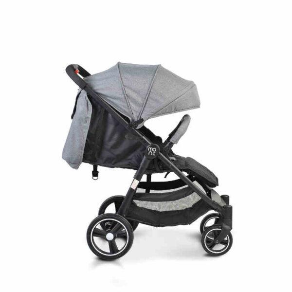 Πολυκαρότσι με κάθισμα αυτοκινήτου Cangaroo Sindy 2 in 1 Grey 3800146234966