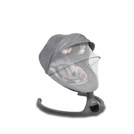 Ηλεκτρικό Ρηλάξ-Κούνια με Bluetooth Cangaroo ISwing Dark Grey 3800146248109