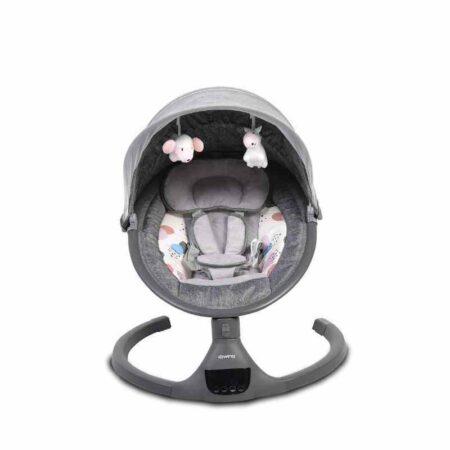 Ηλεκτρικό Ρηλάξ-Κούνια Cangaroo ISwing Dark Grey 3800146248109
