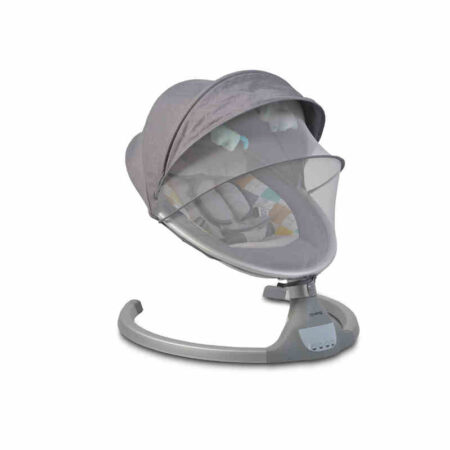 Ηλεκτρικό Ρηλάξ-Κούνια με Bluetooth Cangaroo ISwing Light Grey 3800146248116