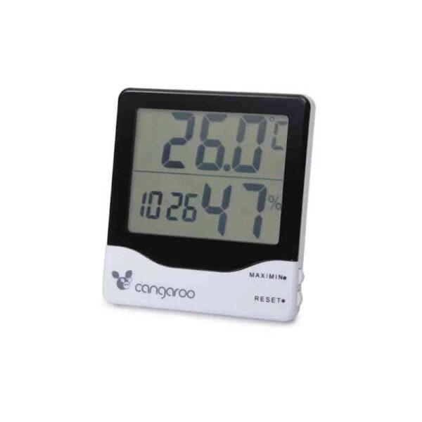 Ψηφιακό Θερμόμετρο-Υγρόμετρο-Ρολόι 3 σε 1  Cangaroo 3800146260460
