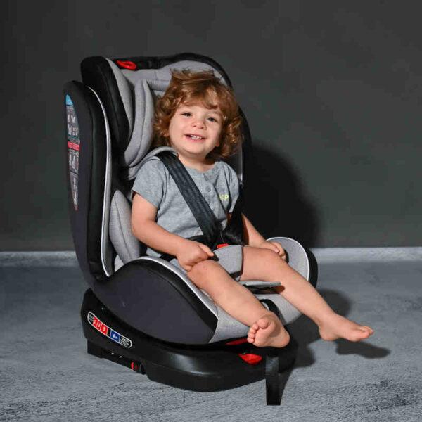 Κάθισμα αυτοκινήτου Isofix 0-36 kg Lorelli Nebula Rot.Black 10071382019