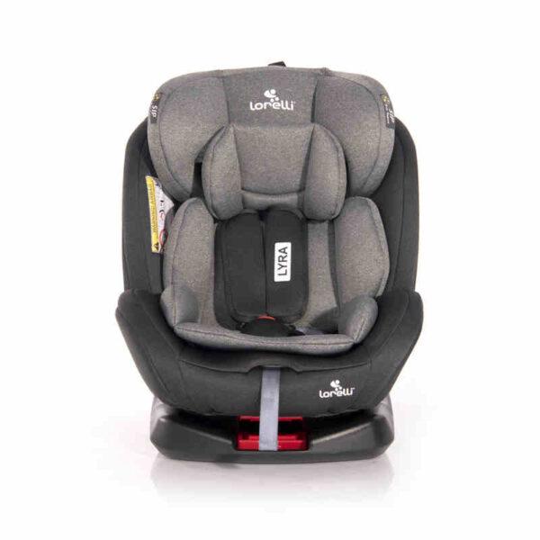 Κάθισμα αυτοκινήτου 0-36 κιλά Isofix Lorelli Lyra Black-Grey 10071452002