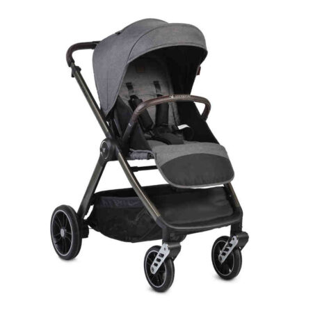 Πολυκαρόστι 3 σε 1 με κάθισμα αυτοκινήτου Cangaroo Macan Grey 3800146235314 set