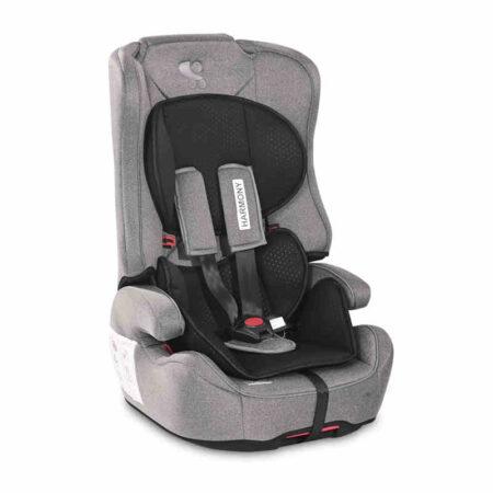 Κάθισμα αυτοκινήτου Lorelli Harmony Isofix 9-36 Steel Black 10071252117