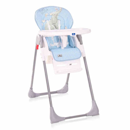 Καρεκλάκι φαγητού Lorelli Cryspi Light Blue Elephant 10100442127