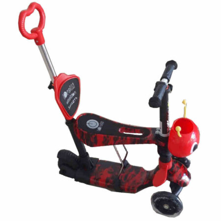 Πατίνι με κάθισμα μετατρεπόμενο Lorelli Smart Plus Red Fire 10390030013